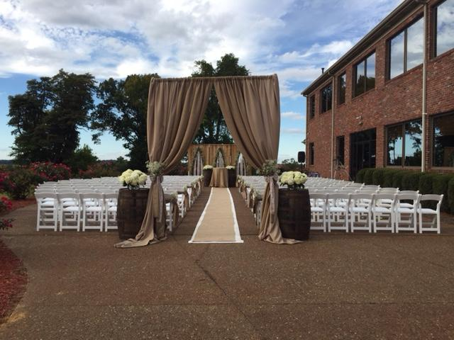 Patio Wedding